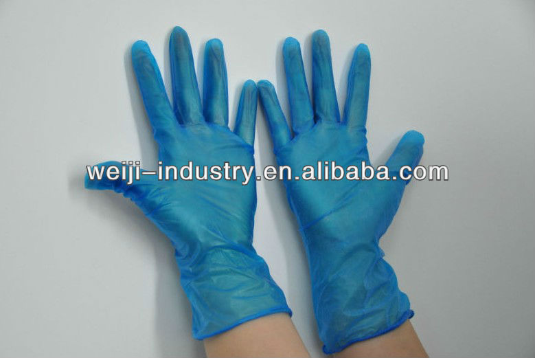 AQL 1.5 Nitrile Hand Gloves for cleanhouse workshop hospital use Examination,Laboratory