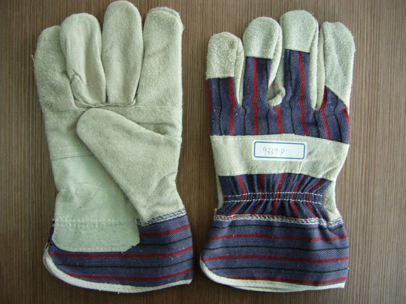 CE Aprroved Nitrile Colored Safety Working PU Coated Glove
